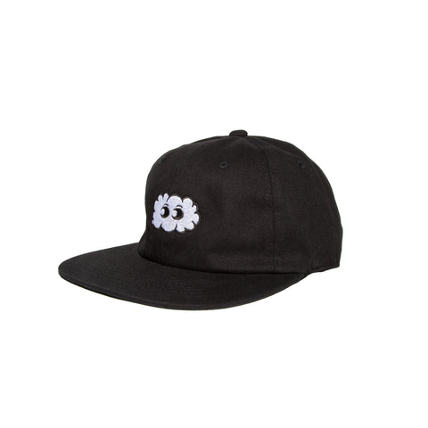 UNSTRUCTURED STRAPBACK (BLACK)