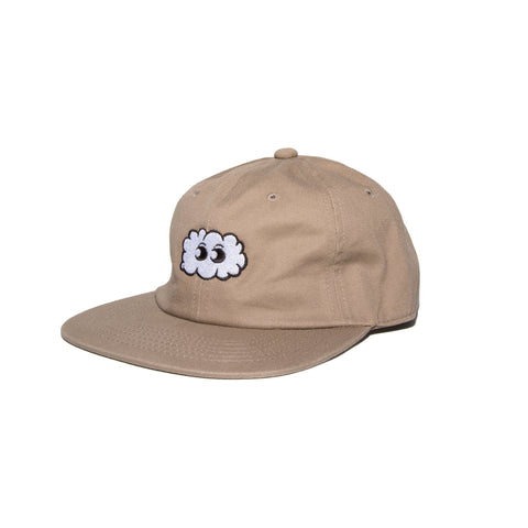 UNSTRUCTURED STRAPBACK (TAN)