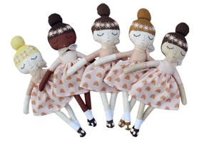 Indy and Pippa Rainbow Girl Dolls