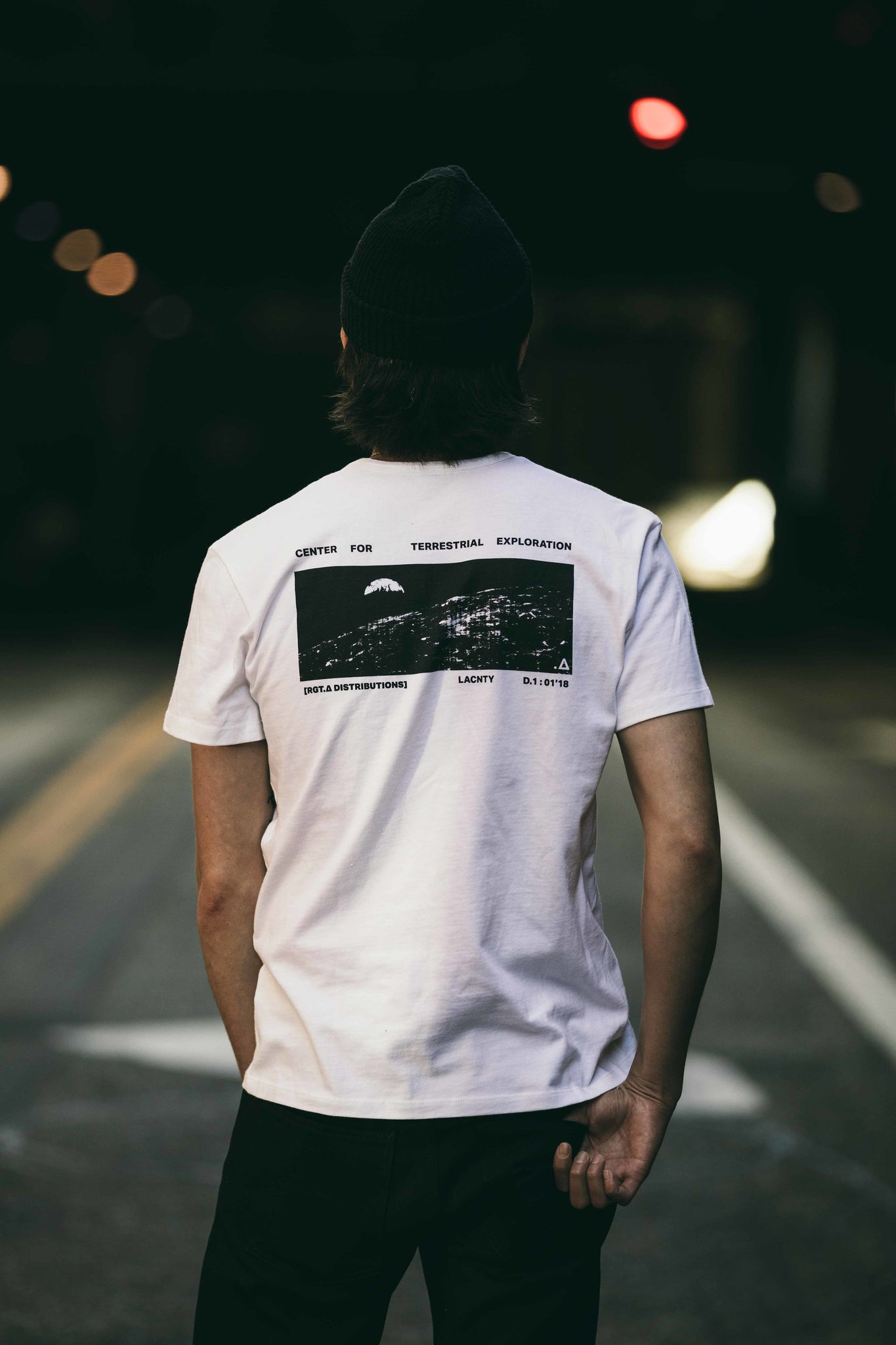 Graphic T-Shirt / Terrestrial Exploration