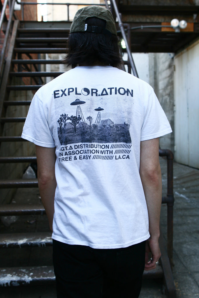 Free & Easy X RGT.A / Exploration T-Shirt White