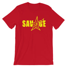 """SAVAGE"" T-shirt (yellow print)"