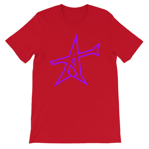 """ALL-IN"" T-shirt (purple print)"