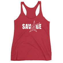 "Women's Racerback ""Savage"" Tank"