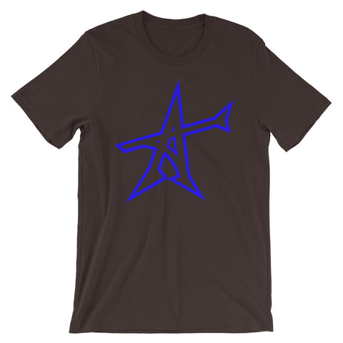 """ALL-IN"" T-shirt (blue print)"