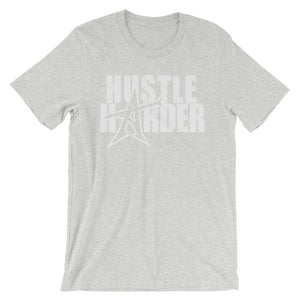 """HUSTLE HARDER"" T-shirt (white print)"