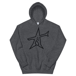 """ALL-IN"" Hoodie (black print)"