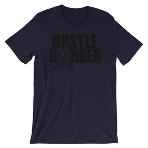 """HUSTLE HARDER"" T-shirt (black print)"