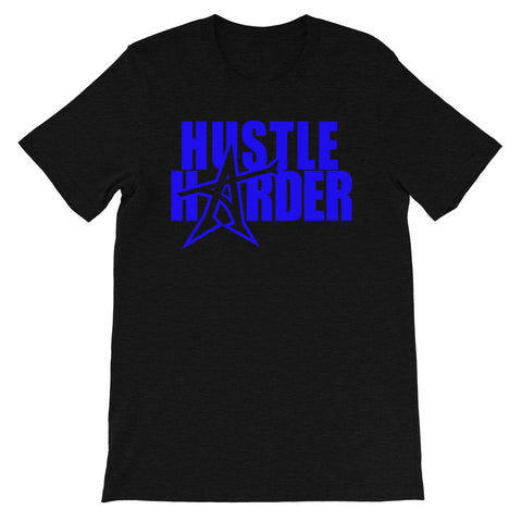 """HUSTLE HARDER"" T-shirt (blue print)"