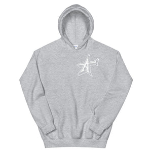 """ALL-IN"" 3D Unisex Hoodie (white print)"