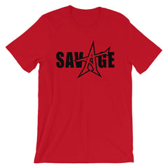 """SAVAGE"" T-shirt (black print)"