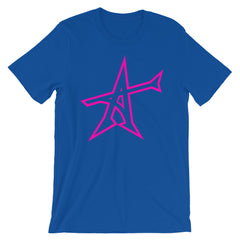 """ALL-IN"" T-shirt (neon-pink print)"