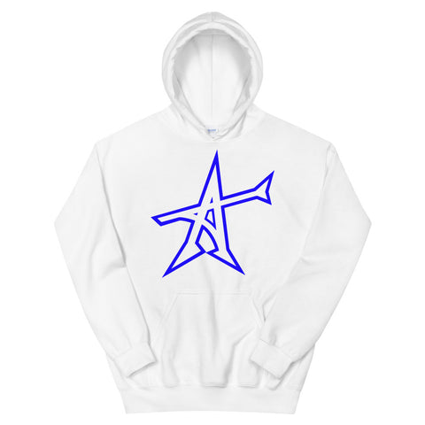 """ALL-IN"" Hoodie (blue print)"