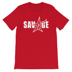 """SAVAGE"" T-shirt (white print)"