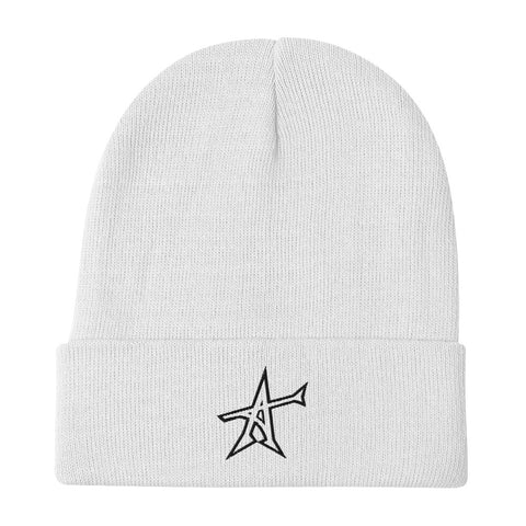 """ALL-IN"" Otto Beanie (black print)"