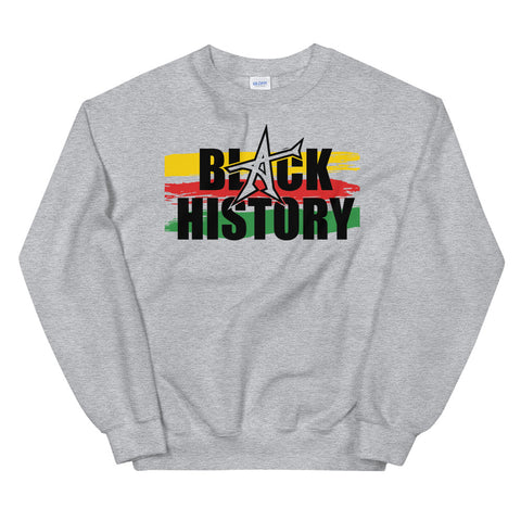 """BLACK HISTORY"" (with color)(black print)"