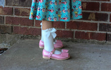 Size Small - Boot Socks with dainty bow - RTS