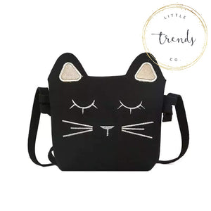 Black Cat Purse - RTS