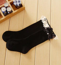 Lacey Knee High Socks - RTS