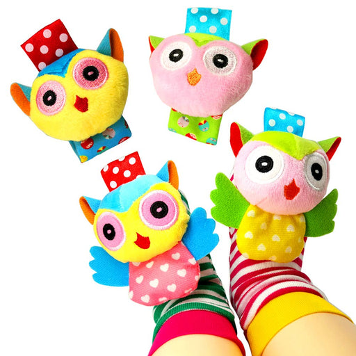 Wrist and Foot Rattle Toys