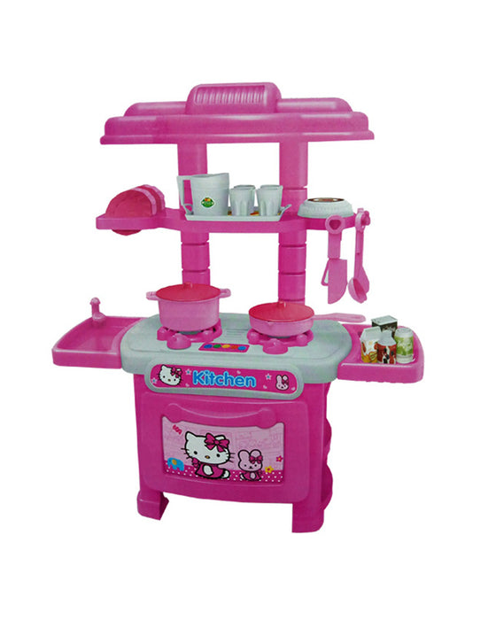Hello Kitty Cooking Stove - 32 pcs-PX-10132