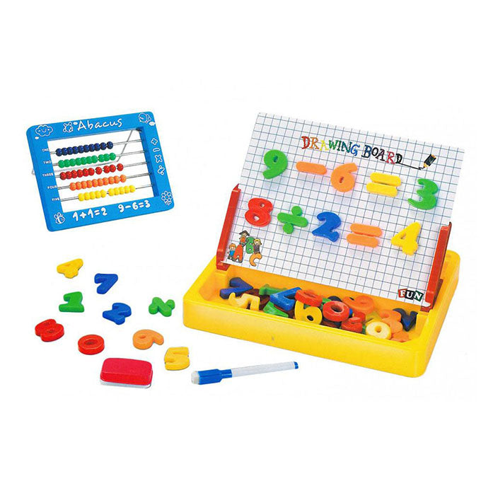 2 in 1 Magnetic Learning Board & Abacus-PX-10830