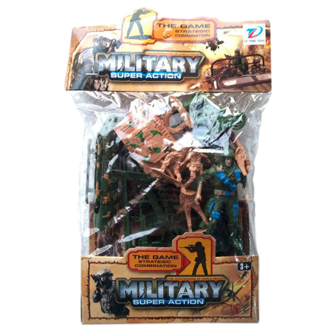 Plastic Army Play Set-PX-9527