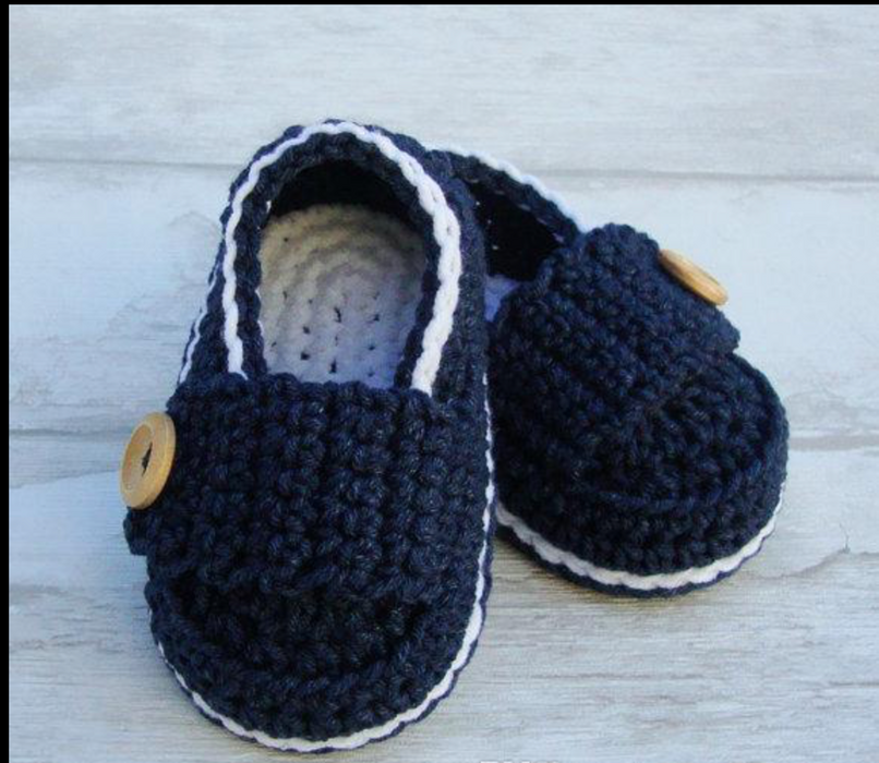 Handmade Winter Booties for Boys 12-18 Months