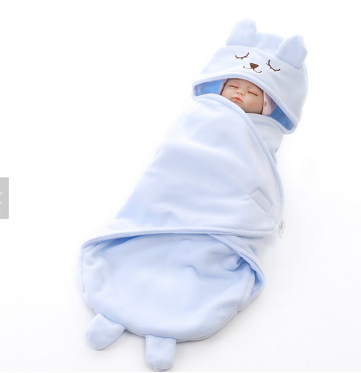 Winter baby swaddle
