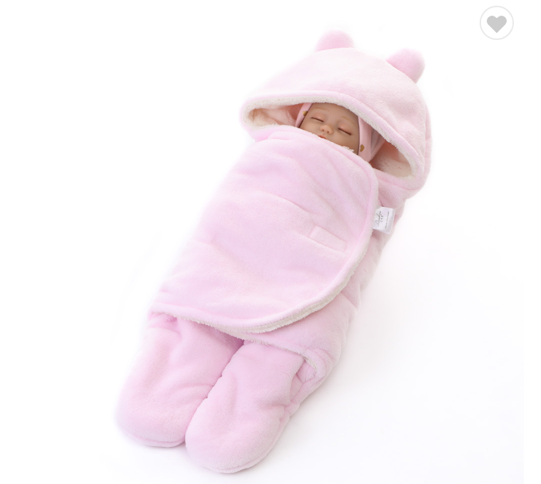 Winter Fleece Swaddle