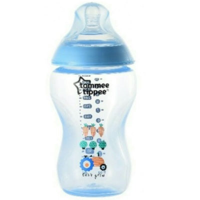 Tommee Tippee: Closer To Nature - PP Feeding Bottle 340ml / 12oz - Decorated - Blue Tractor