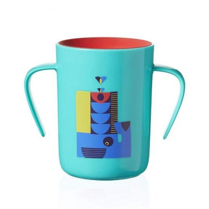 Trainer Cup Deco  Teal 360ML