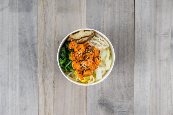 Spicy Chicken Bibimbap Dosirak