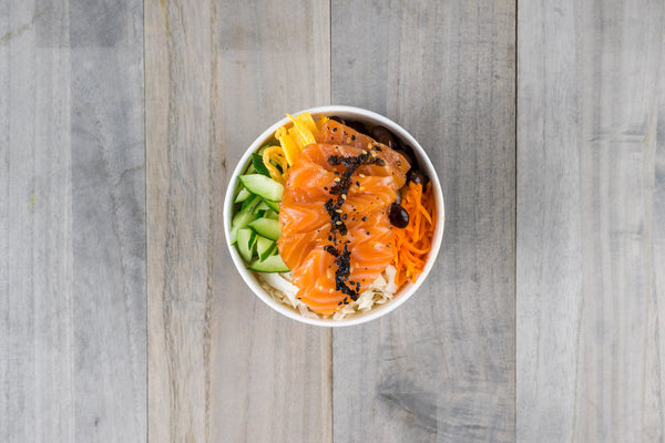 Cured Salmon Bibimbap Dosirak