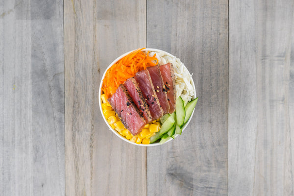Seared Tuna Bibimbap Dosirak