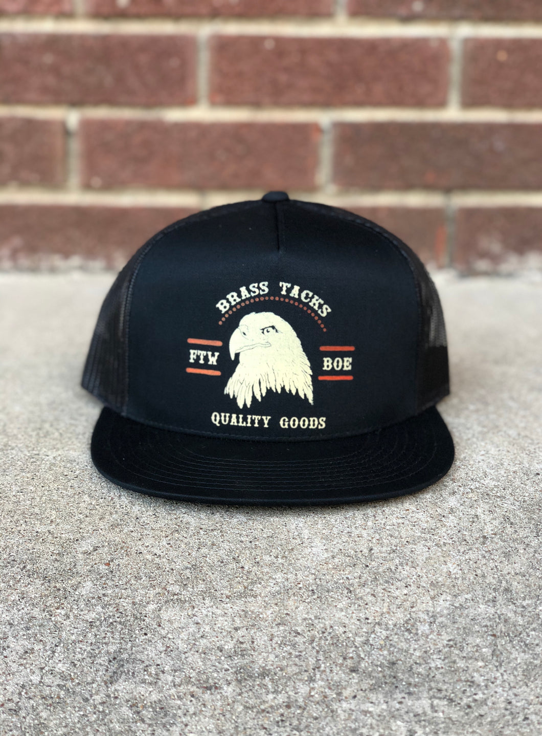 Eagle trucker cap