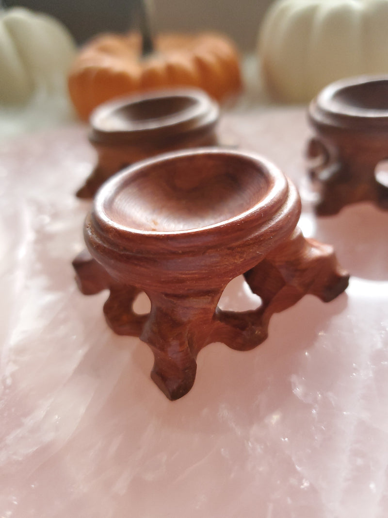 Wooden Stand for Crystal Spheres