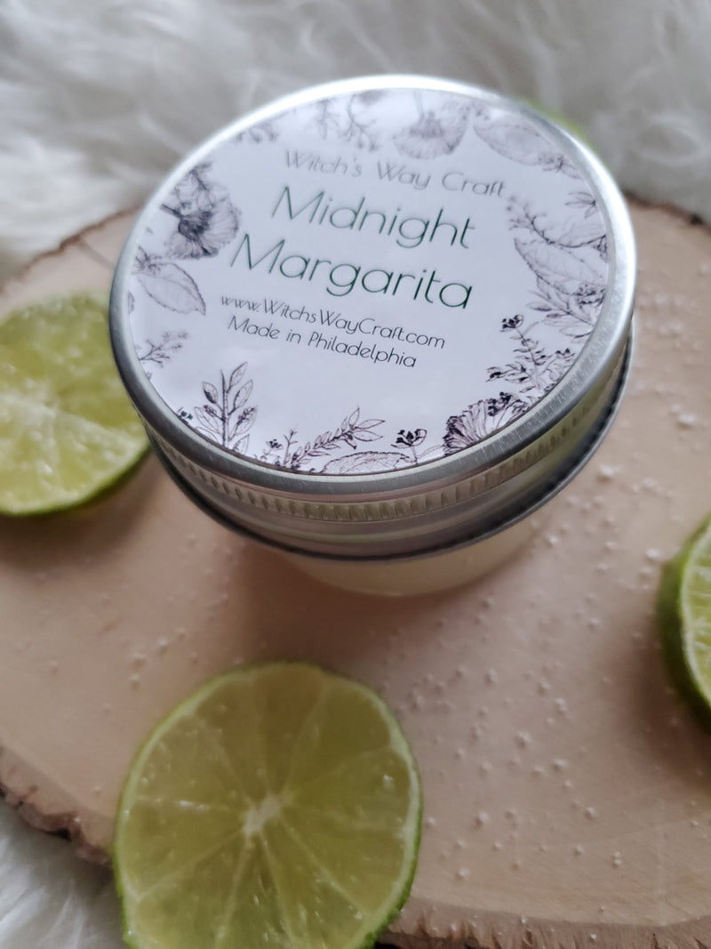 Midnight Margarita - Scented Soy Candle