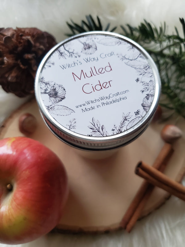 Mulled Cider - Scented Soy Candle