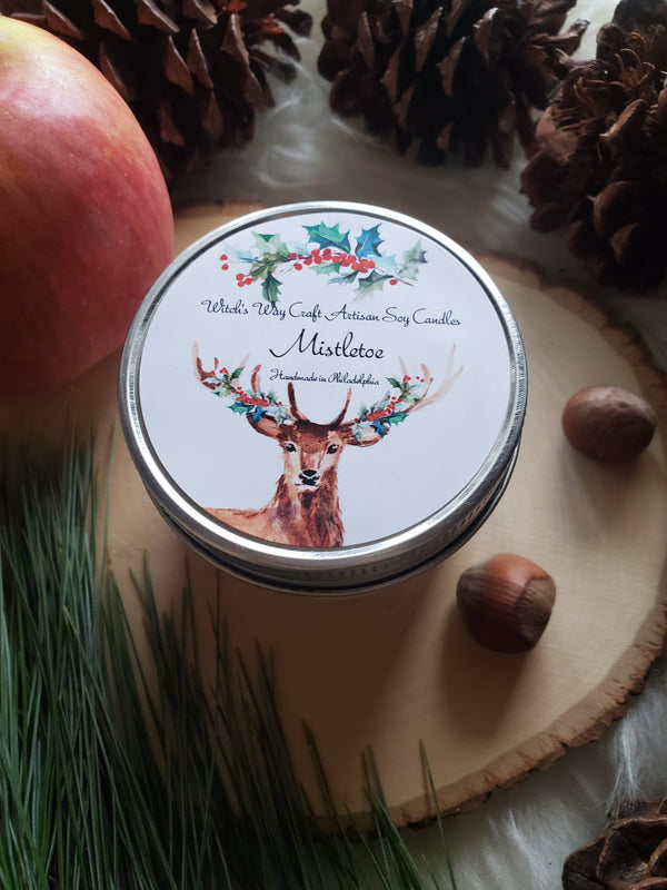 Mistletoe - Scented Soy Candle