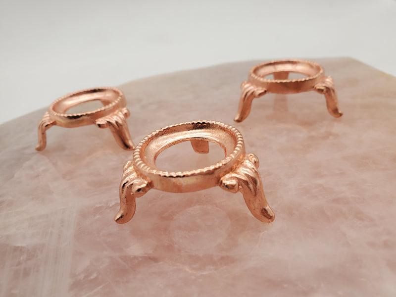 Copper - Stand for Crystal Spheres 1.25 inches