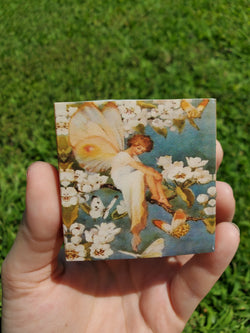 Vintage Fairy Match Box 6