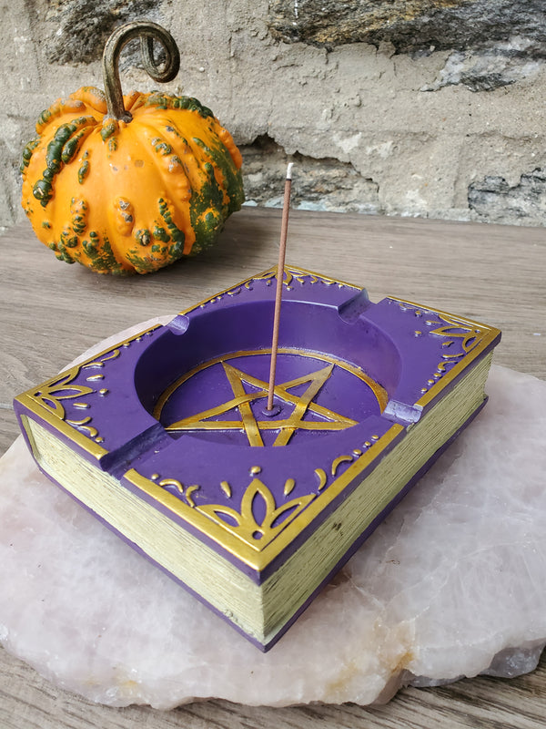 Book of Shadows Incense Burner