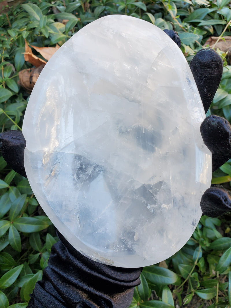Clear Quartz Crystal Bowl