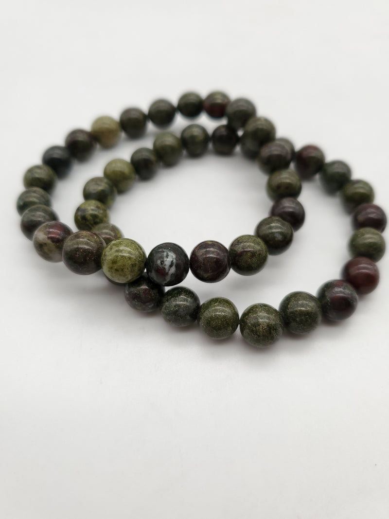 Dragon Blood Stone Bracelet - 8mm