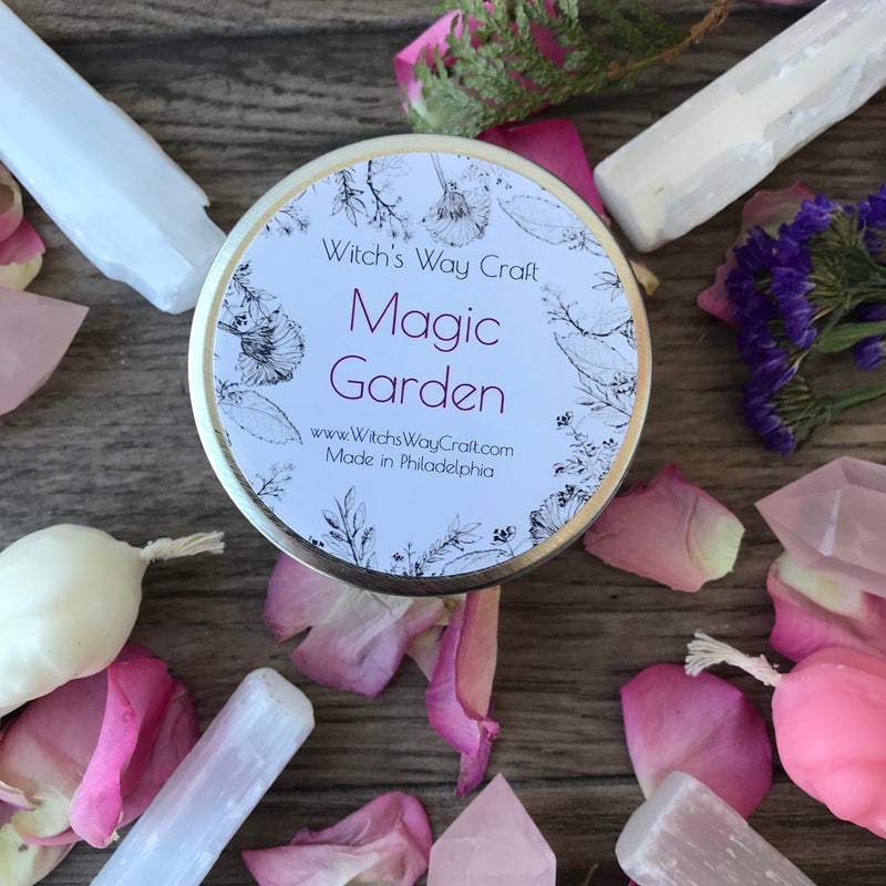 Magic Garden Scented Soy Candle