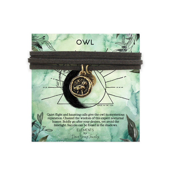 Owl Talisman - Necklace by DYJ