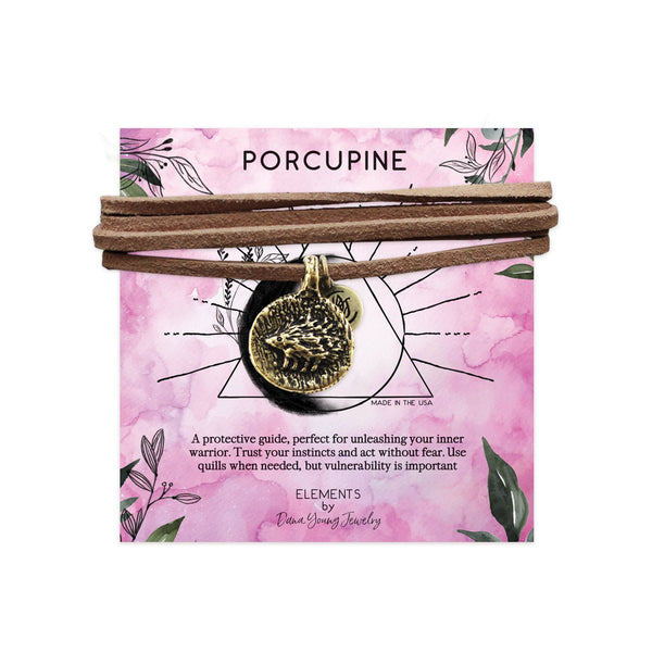 Porcupine Talisman - Necklace by DYJ