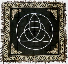 Triquetra Altar Cloth LARGE