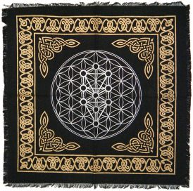 Kabbalah Tree of Life Altar Cloth